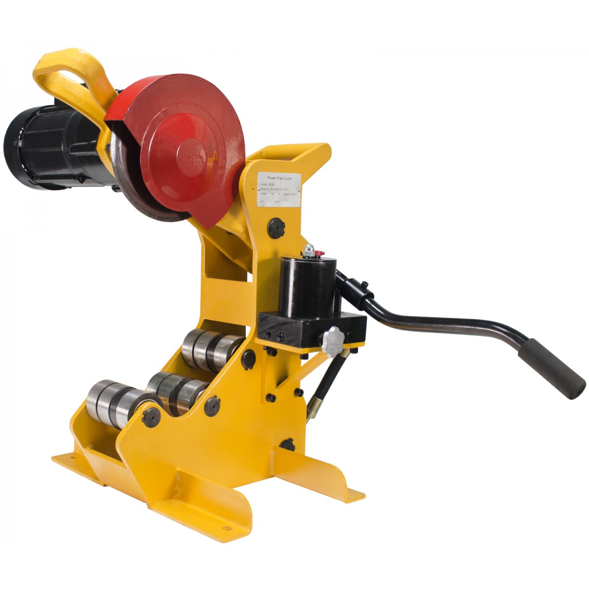 Sdt 258 G Power Pipe Cutter W 2 1 2 Quot 8 Quot Pipe Capacity