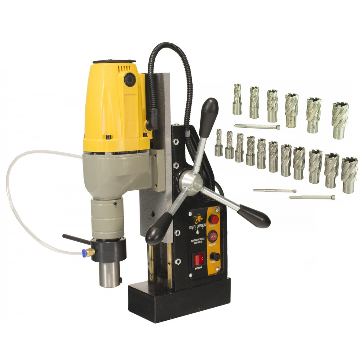 Steel Dragon Tools 174 Md40 Magnetic Drill Press With Hss