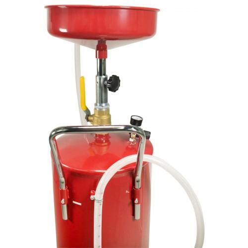 18 Gallon Oil Waste Drain Tank Pan Auto Garage Lift