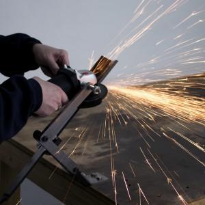 All American Sharpener 5002 Sharpener Kit and Grinder for Standard Lawn Mower Blades