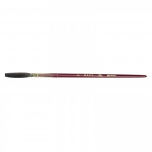 Andrew Mack Brown Kazan Squirrel Hair Lettering Quill Series 179L Size 8