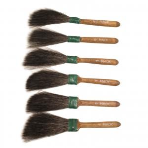 Andrew Mack Sword Striper 20 Squirrel Hair Brushes Sizes 00 - 4