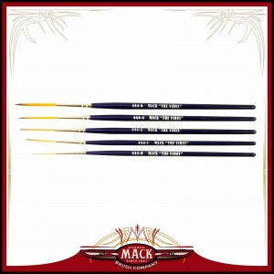 Andrew Mack Series 444 The Virus Scrolling Script Pinstriping Brushes (All Sizes)