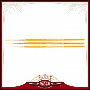 Andrew Mack Series AJ Alan Johnson Signature Fine Detailing Pinstriper Special Taklon Brushes