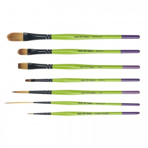 Andrew Mack/Sarah And Jeral Tidwell Monster Stix 7 Brush Set