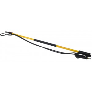 BE Pressure 18' Fiberglass Telescoping Pressure Washer Wand with Lever Lock