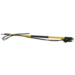 BE Pressure 24' 4 Stage Telescoping Pressure Washer Wand with Lever Lock