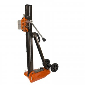 Cayken Aluminum Diamond Core Drill Rig Stand with Vacuum Plate and Wheels