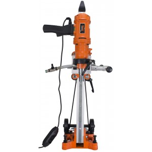 "Cayken 6"" Diamond Core Drill Rig with 200F Adjustable Angle Stand"