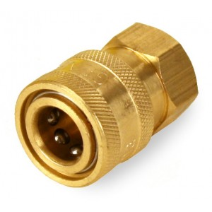 "General Pump Pressure Washer 1/4"" Female NPT-F Quick Connect Coupler 5000 PSI"