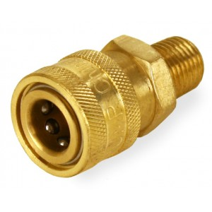 "General Pump Pressure Washer 1/4"" Male NPT-M Quick Connect Coupler 5000 PSI"