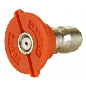 """Raptor Blast 1/4"""" Stainless Steel Quick Connect 0 Degree Nozzle 3.0-6.0"""
