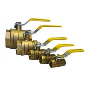 "Raptor Blast Brass Ball Valves, 1/4"" - 3"""