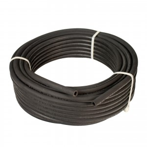 """Erie Tools Hydraulic Hose SAE 100R17 – 3/8"""" ID - 1 High Tensile Steel Wire Braids - Hose Only - 100 Feet"""