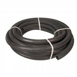 "Erie Tools Hydraulic Hose SAE 100R2AT - 1"" ID - 2 High Tensile Steel Wire Braids - Hose Only - 50 Feet"