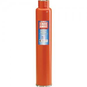 "Diamond Products Hole Heavy Duty Orange Wet Core Bits 1/2"" - 10"""