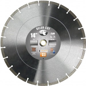 Diamond Products Delux-Cut Masonry Blades for Brick & Block Application - Basic Diamond