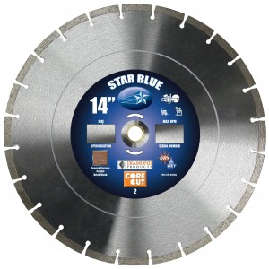 Diamond Products Star Blue Masonry Blades for Brick & Block Application - Good Quality Diamond