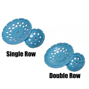Diamond Products Star Blue Single & Double Row Segmented Cup Grinders - Good Quality & Good Grinding Value