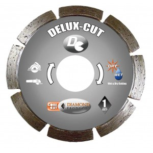 Diamond Products Small Diameter Segmented Dry Delux-Cut Cutting Blades - Basic Quality & Cutting Value
