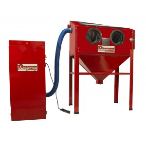 Dragway Tools Model 60 Sandblast Cabinet With Dust Collector