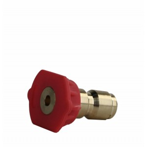 Erie Tools 2nd Story Soap Nozzle 1/4 Quick Connect for Hot Cold Pressure Washer