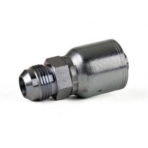 """Erie Tools JIC 37° Male Rigid Hydraulic Hose Fitting, 1/4"""" -1"""""""