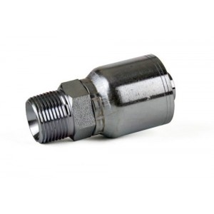 "Erie Tools® NPTF Male Pipe Rigid Hydraulic Hose Fitting - 1/8"" - 1 1/4"""