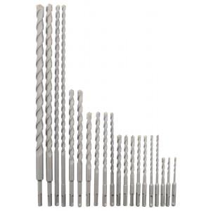 Erie Tools® 20 Piece SDS Rotary Hammer Concrete Masonry Carbide Tipped Bit Set