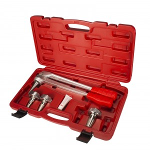 "IWISS F1960 PEX Pipe Expansion Manual Tool Kit With 1/2"" To 1"" Expansion Heads"