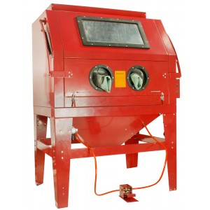 Dragway Tools Model 260 Sandblast Cabinet & Built In Dust Collector