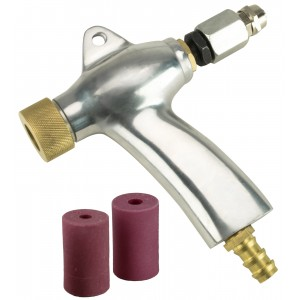 Dragway Tools® Blast Media Gun & Nozzles for Model 110 and 260 Sandblast Cabinet