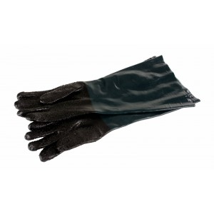 Dragway Tools Rubber Gloves for Model 25 Benchtop Sandblast Cabinet
