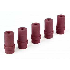 (5) Dragway Tools 6mm Ceramic Nozzles for Model 25, 60, 90, Sandblast Cabinet