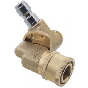 """Erie Tools Pressure Washer Pivoting 1/4"""" Quick Connect Coupler"""
