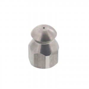 "Erie Tools Button Nose 1/4"" Sewer Jetter Nozzles"