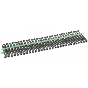 "MURO® Gray Epoxy #8 x 2-1/2"" Square Flathead Wood Deck Screws for Ultra Driver"