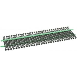 "MURO® Green Epoxy #8 x 3"" Square Flathead Wood Deck Screws for Ultra Driver"