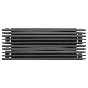 """(10) Pack of MURO® #2 Square Driver Bits 7-1/4"""" Length for Coil Speed Driver"""