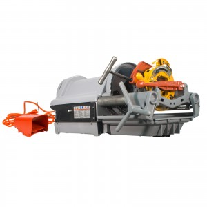Steel Dragon Tools Reconditioned RIDGID® 1224 220V Pipe Threader with SDT 711 and 714 Die Head and Dies