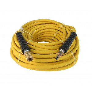"Schieffer 4000 PSI 3/8"" x 100' Pressure Washer Hose with Animal Fat Resistant Cover"