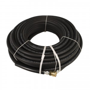"Propulse® 4000 PSI 3/8"" x 100' Uberflex Pressure Washer Hose with Couplers"