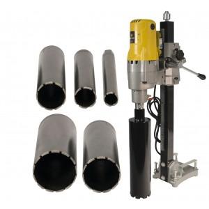 "Steel Dragon Tools® 185 & 2"" 3"" 4"" 5"" 6"" Wet Laser Welded Diamond Concrete Bits"