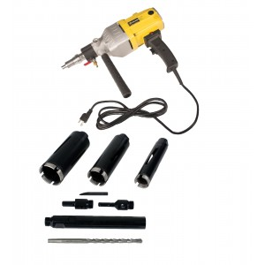 """Steel Dragon Tools® 85D with 1.5"""" 2"""" 2.5"""" Dry Diamond Core Drill Bits"""