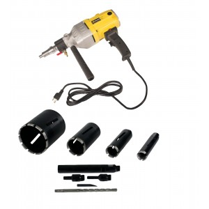 """Steel Dragon Tools® 85D with 1.5"""" 2"""" 3"""" 5"""" Dry Diamond Core Drill Bits"""