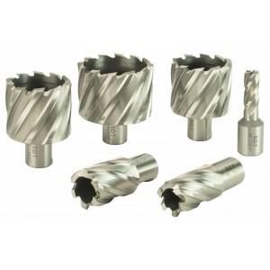 """Steel Dragon Tools® HSS Annular Cutters 1"""" Depth 7/16""""- 2-3/8"""""""