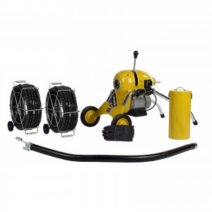Steel Dragon Tools® K1500B Drain Cleaning Machine and 120' Cable
