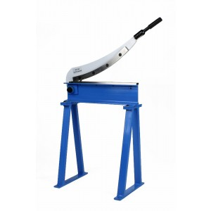 "Erie Tools® Manual Guillotine Shear 20"" x 16 Gauge Sheet Metal Cutter with Stand"