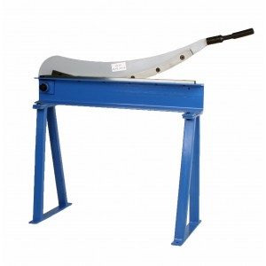 "Erie Tools Manual Guillotine Shear 32"" x 16 Gauge Sheet Metal Cutter with Stand"