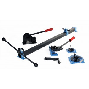 Erie Tools Steel Metal Fabrication 4 Piece Kit
